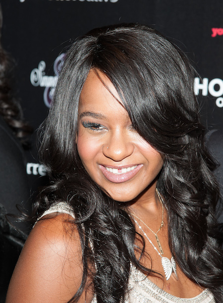 "NEW YORK, NY - OCTOBER 22:  Bobbi Kristina Brown attends ""The Houstons: On Our Own"" Series Premiere Party at Tribeca Grand Hotel on October 22, 2012 in New York City.  (Photo by Dave Kotinsky/Getty Images)"