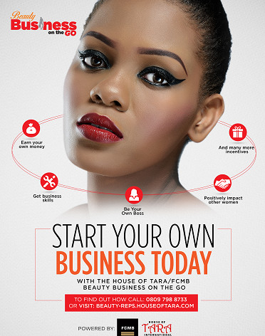 Business Beauty on the Go flyer