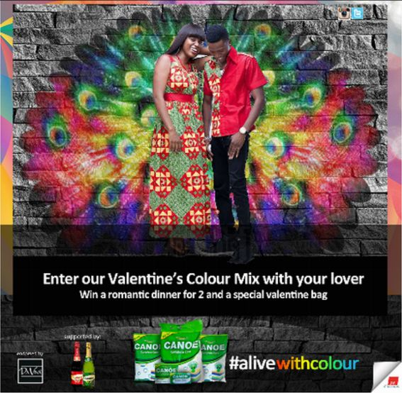 Canoe #AliveWithColour Competition - BellaNaija - February2015