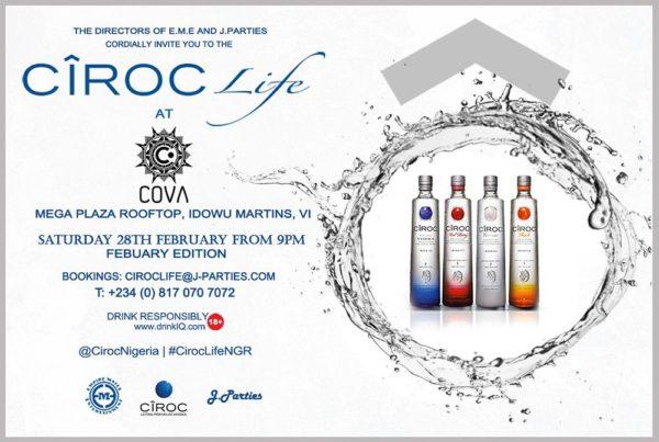 Ciroc Life February Edition_Invitation Design Creative_EME x J.Parties