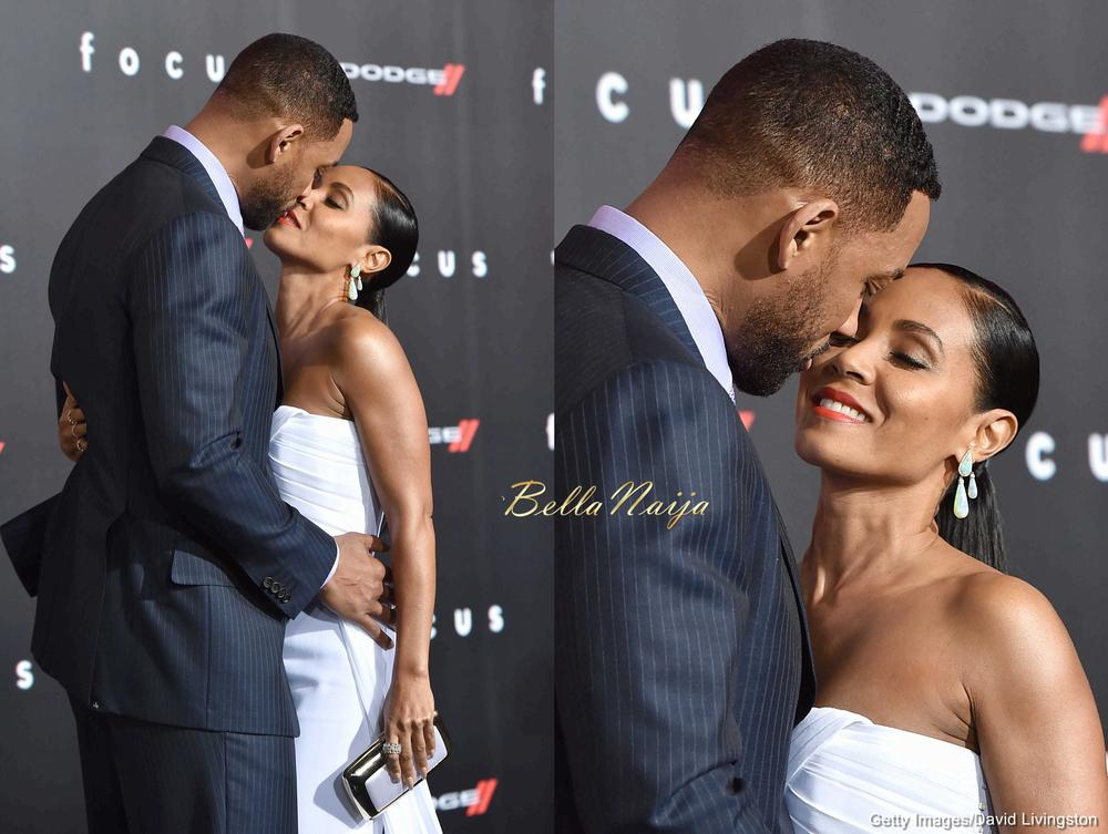 We ♥ PDA Moments! Will Smith & Jada Pinkett Smith Share a ...