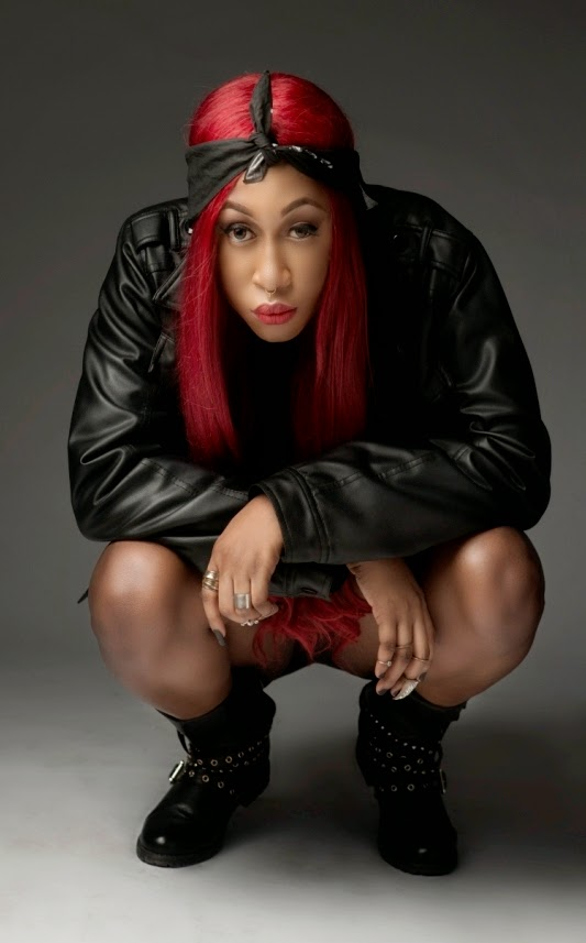 red hair amp a fierce attitude cynthia morgan releases new