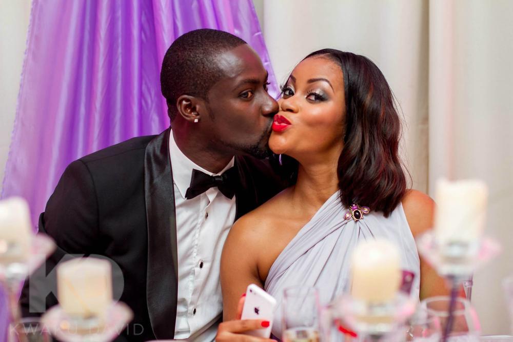 Damilola Adegbite and Chris Attoh's wedding