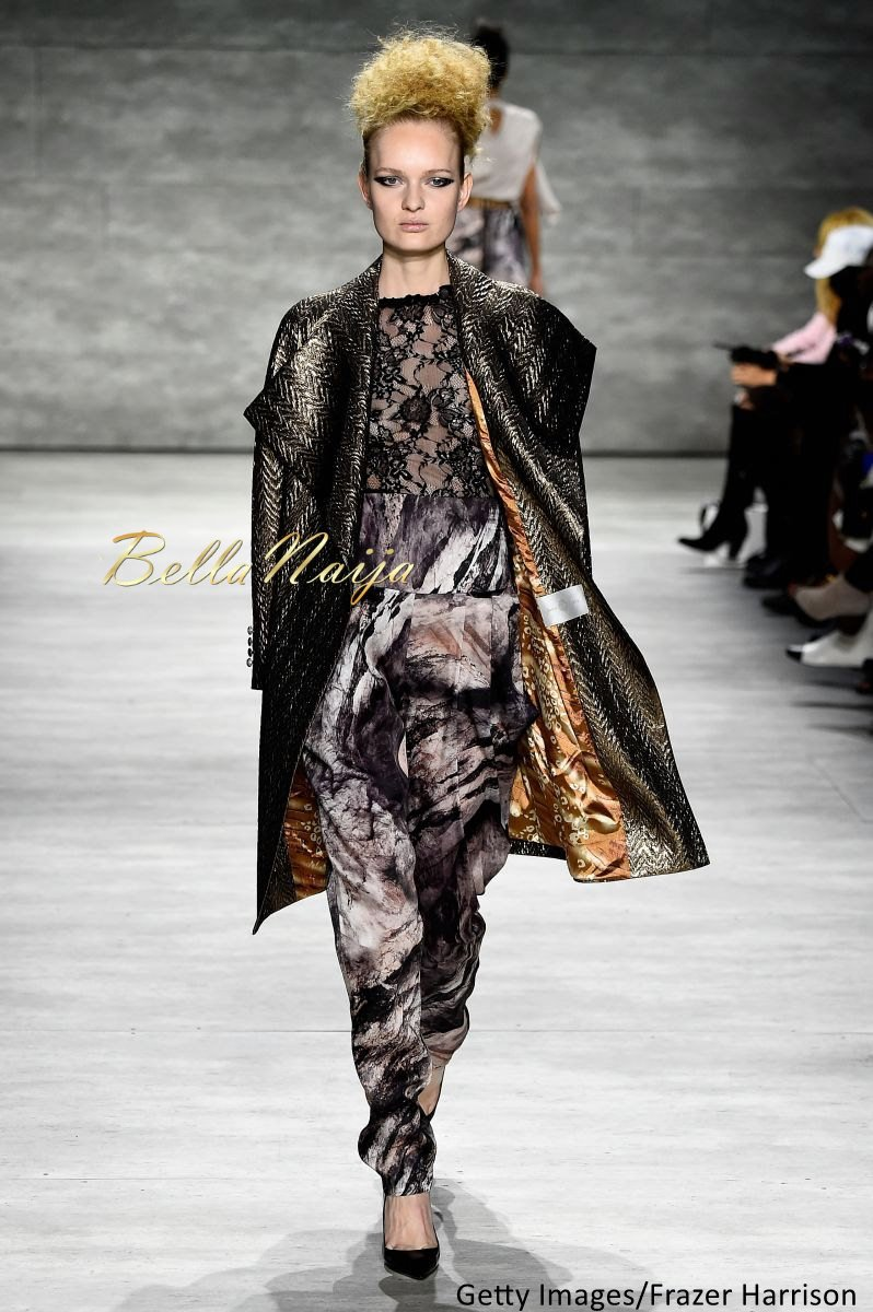David Tlale at Mercedes-Benz Fashion Week New York 2015 David Tlale Makeup - Bellanaija - February2015002