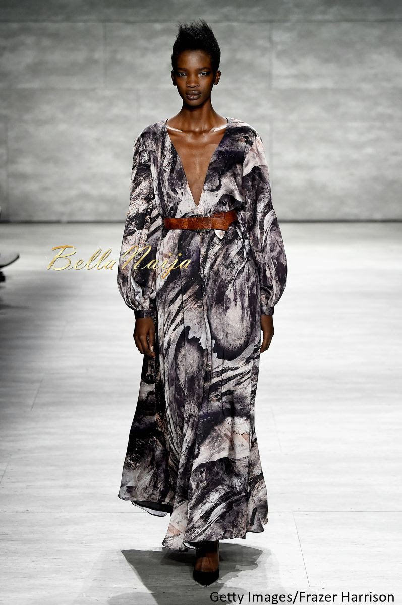 David Tlale at Mercedes-Benz Fashion Week New York 2015 David Tlale Makeup - Bellanaija - February2015003