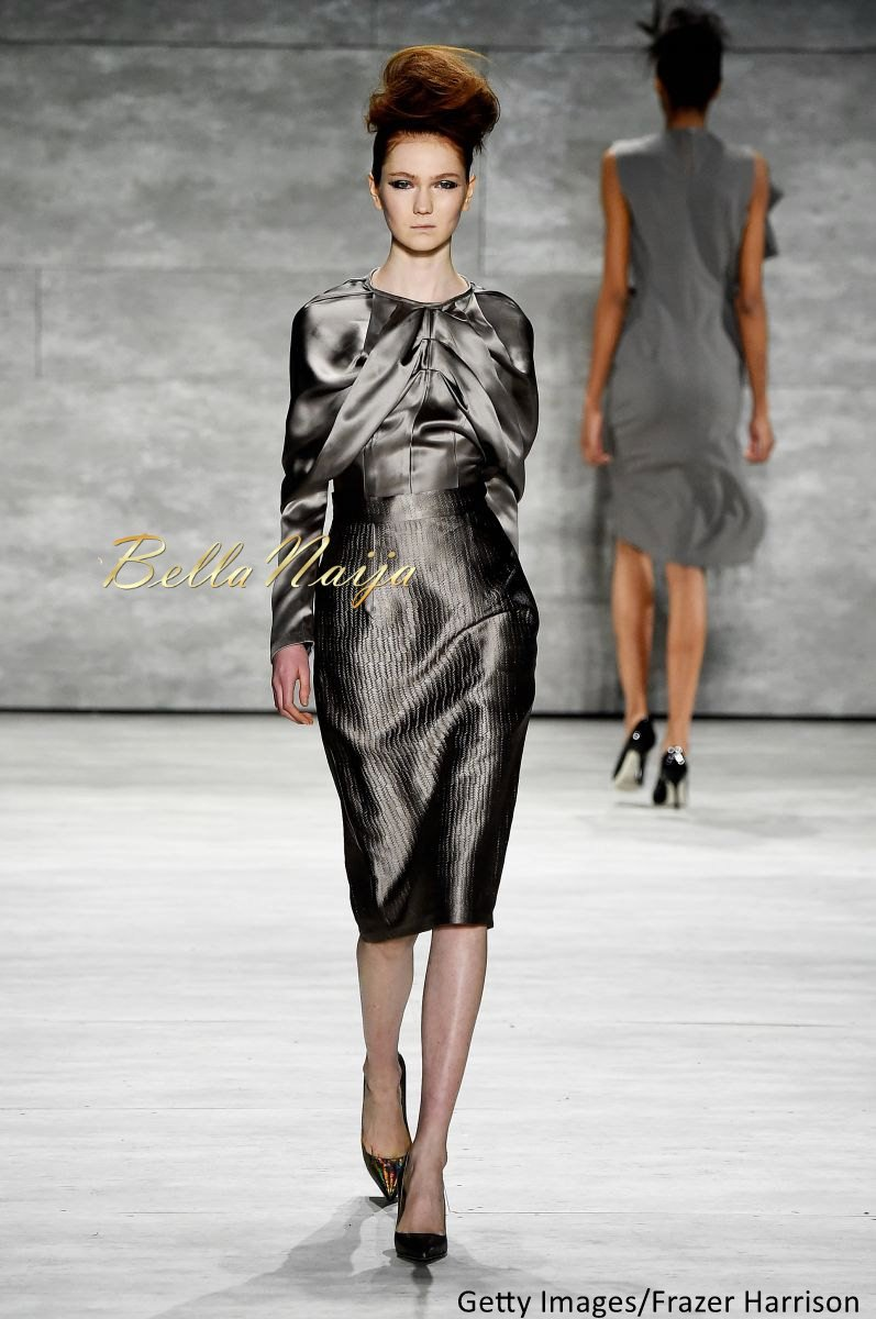 David Tlale at Mercedes-Benz Fashion Week New York 2015 David Tlale Makeup - Bellanaija - February2015005