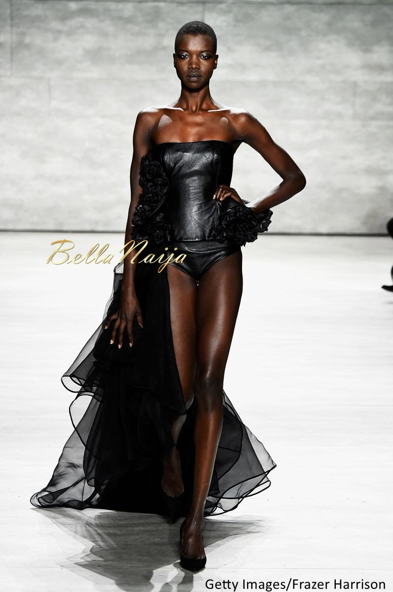 David Tlale at Mercedes-Benz Fashion Week New York 2015 David Tlale Makeup - Bellanaija - February2015009