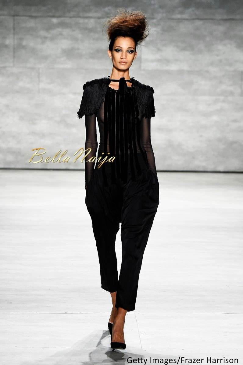 David Tlale at Mercedes-Benz Fashion Week New York 2015 David Tlale Makeup - Bellanaija - February2015010