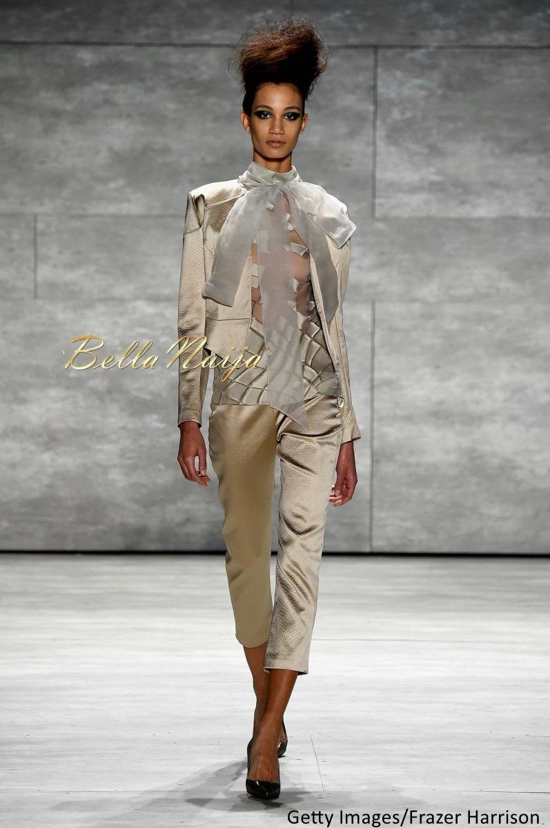 David Tlale at Mercedes-Benz Fashion Week New York 2015 David Tlale Makeup - Bellanaija - February2015013
