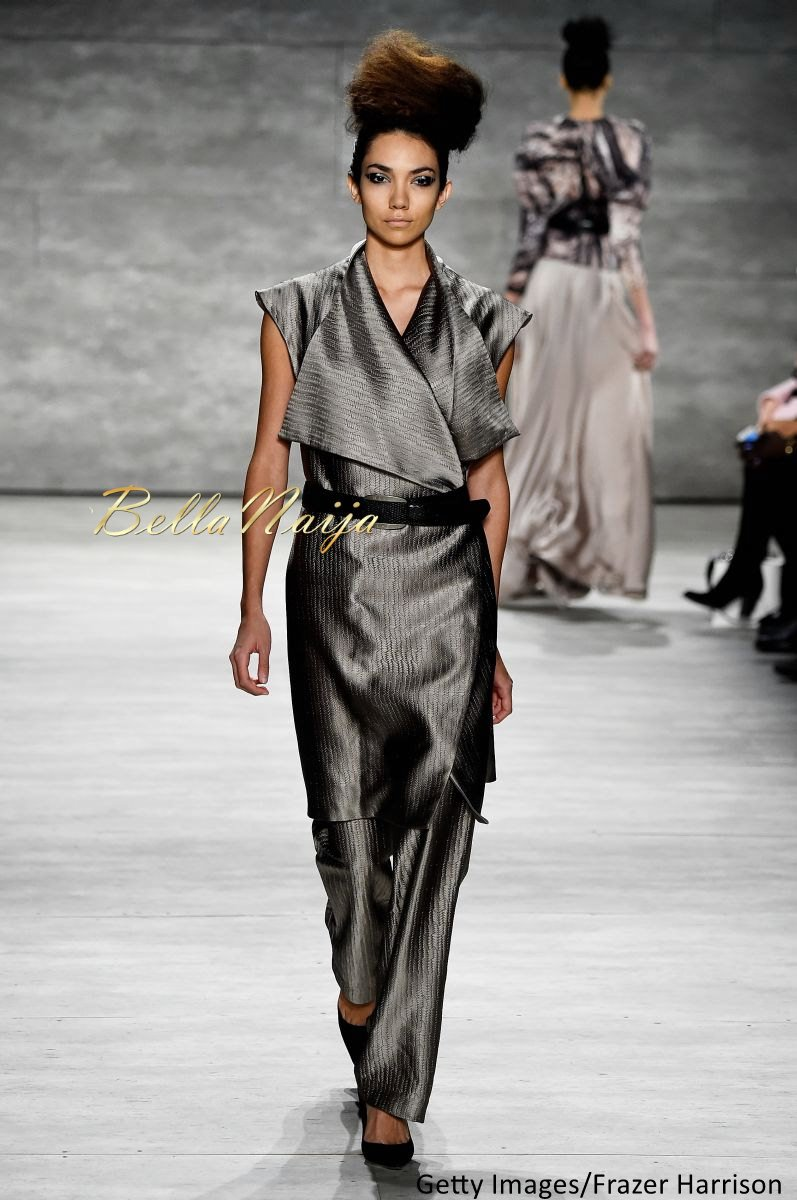 David Tlale at Mercedes-Benz Fashion Week New York 2015 David Tlale Makeup - Bellanaija - February2015014