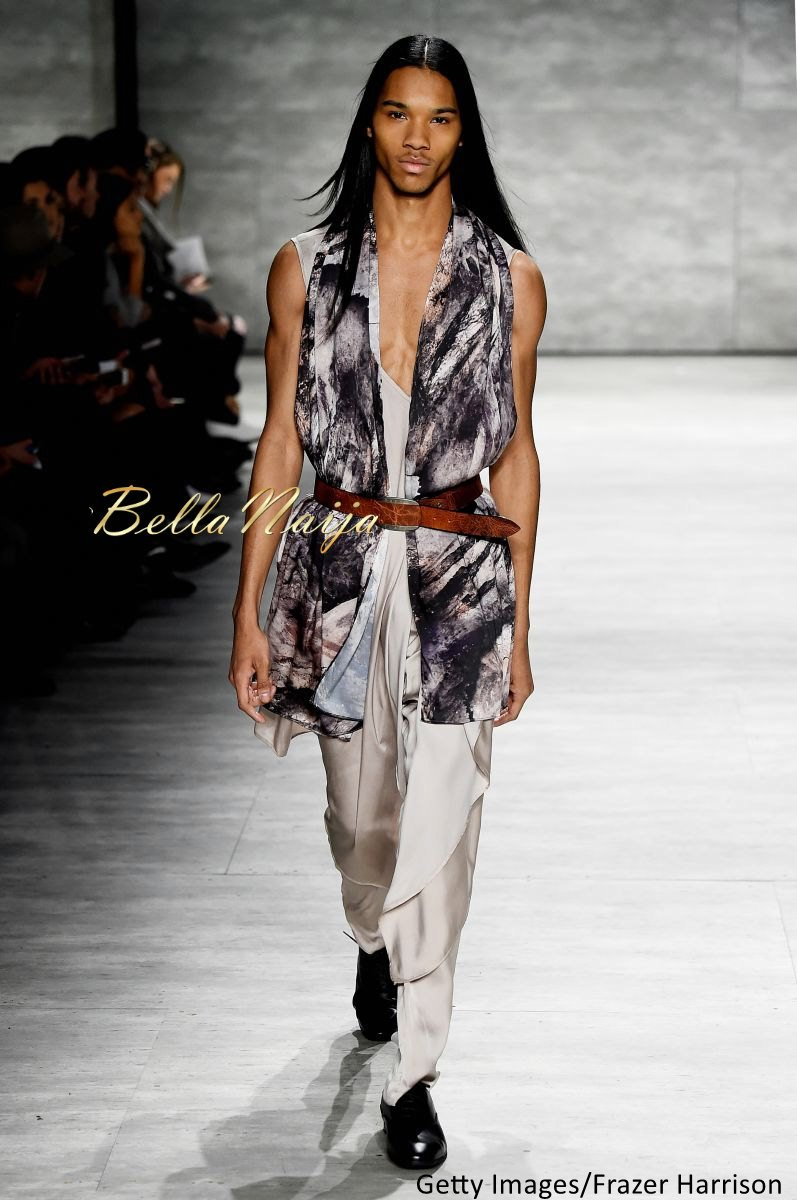 David Tlale at Mercedes-Benz Fashion Week New York 2015 David Tlale Makeup - Bellanaija - February2015015