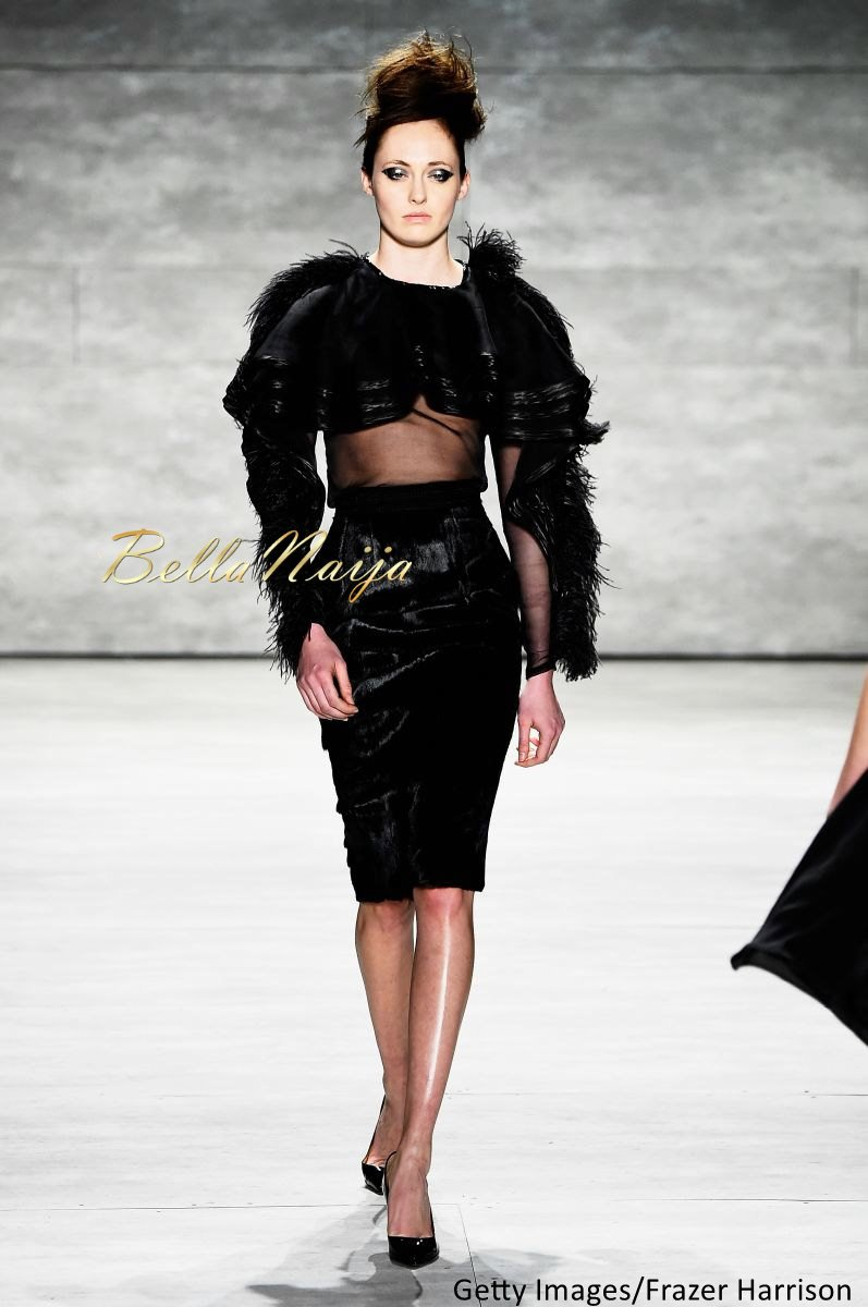 David Tlale at Mercedes-Benz Fashion Week New York 2015 David Tlale Makeup - Bellanaija - February2015018