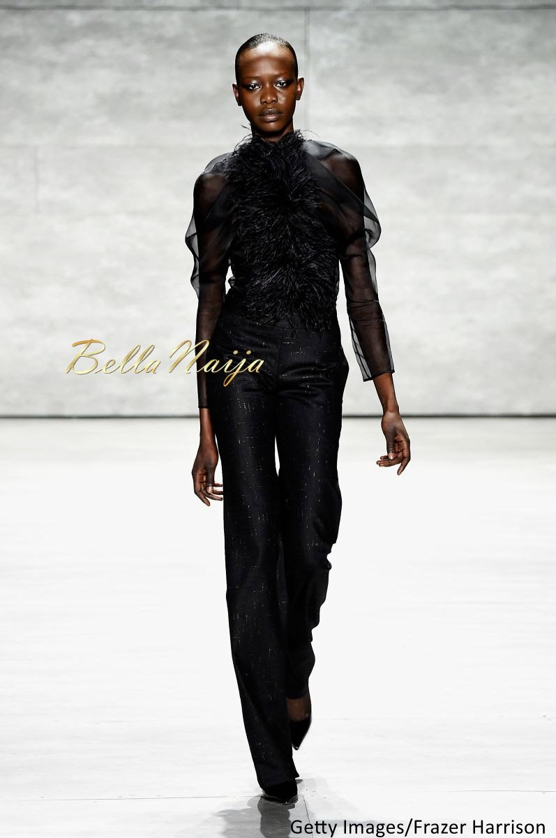 David Tlale at Mercedes-Benz Fashion Week New York 2015 David Tlale Makeup - Bellanaija - February2015019