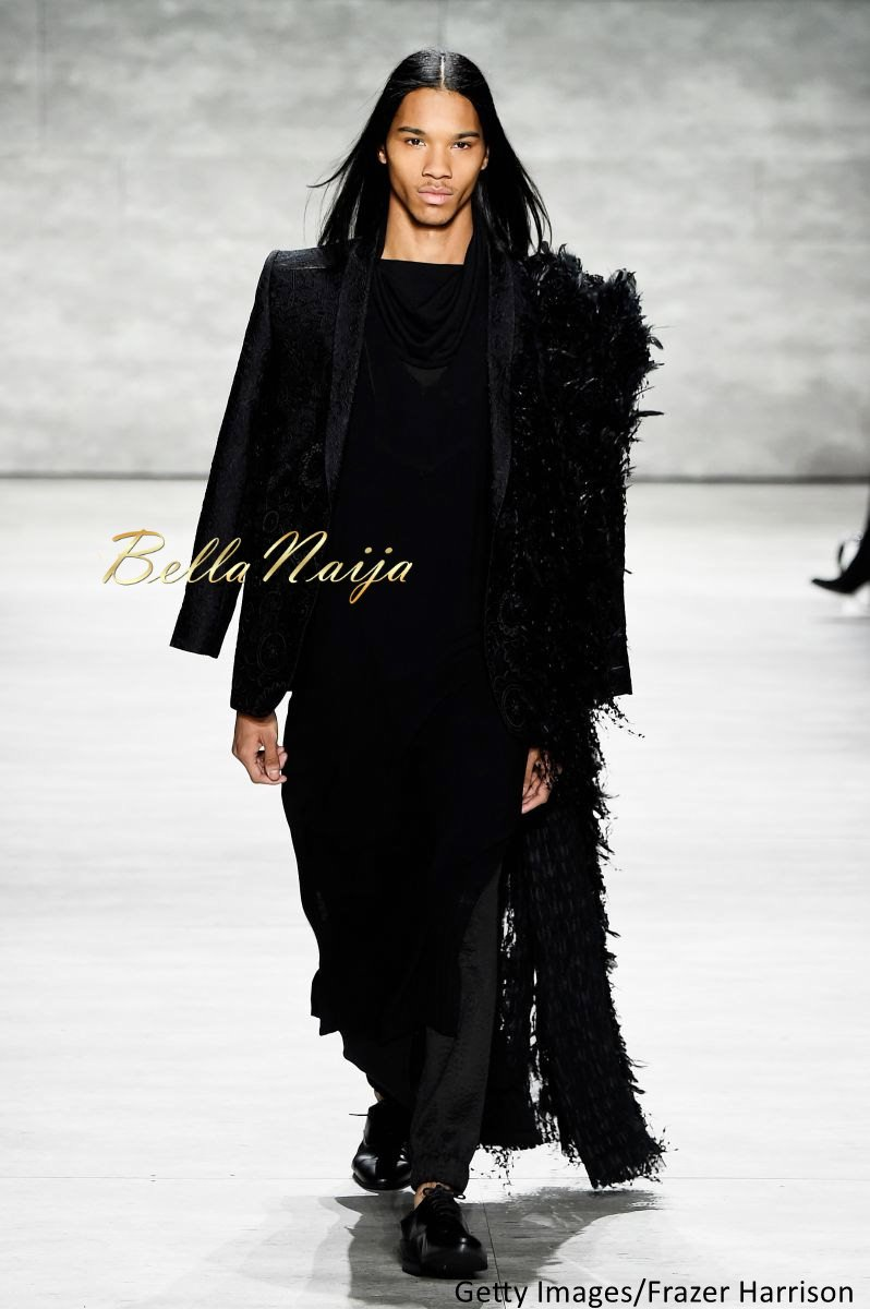 David Tlale at Mercedes-Benz Fashion Week New York 2015 David Tlale Makeup - Bellanaija - February2015021