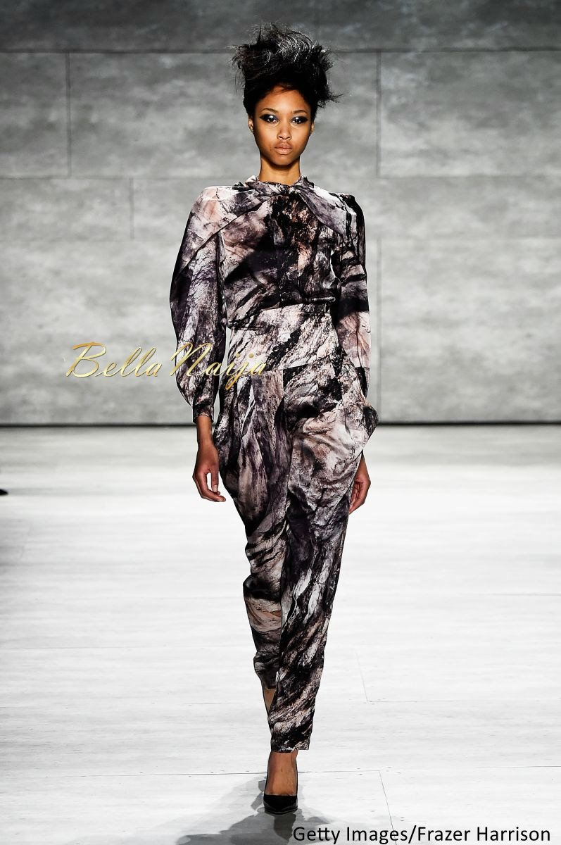 David Tlale at Mercedes-Benz Fashion Week New York 2015 David Tlale Makeup - Bellanaija - February2015024