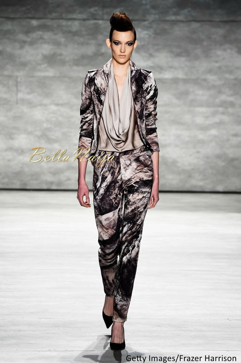 David Tlale at Mercedes-Benz Fashion Week New York 2015 David Tlale Makeup - Bellanaija - February2015026