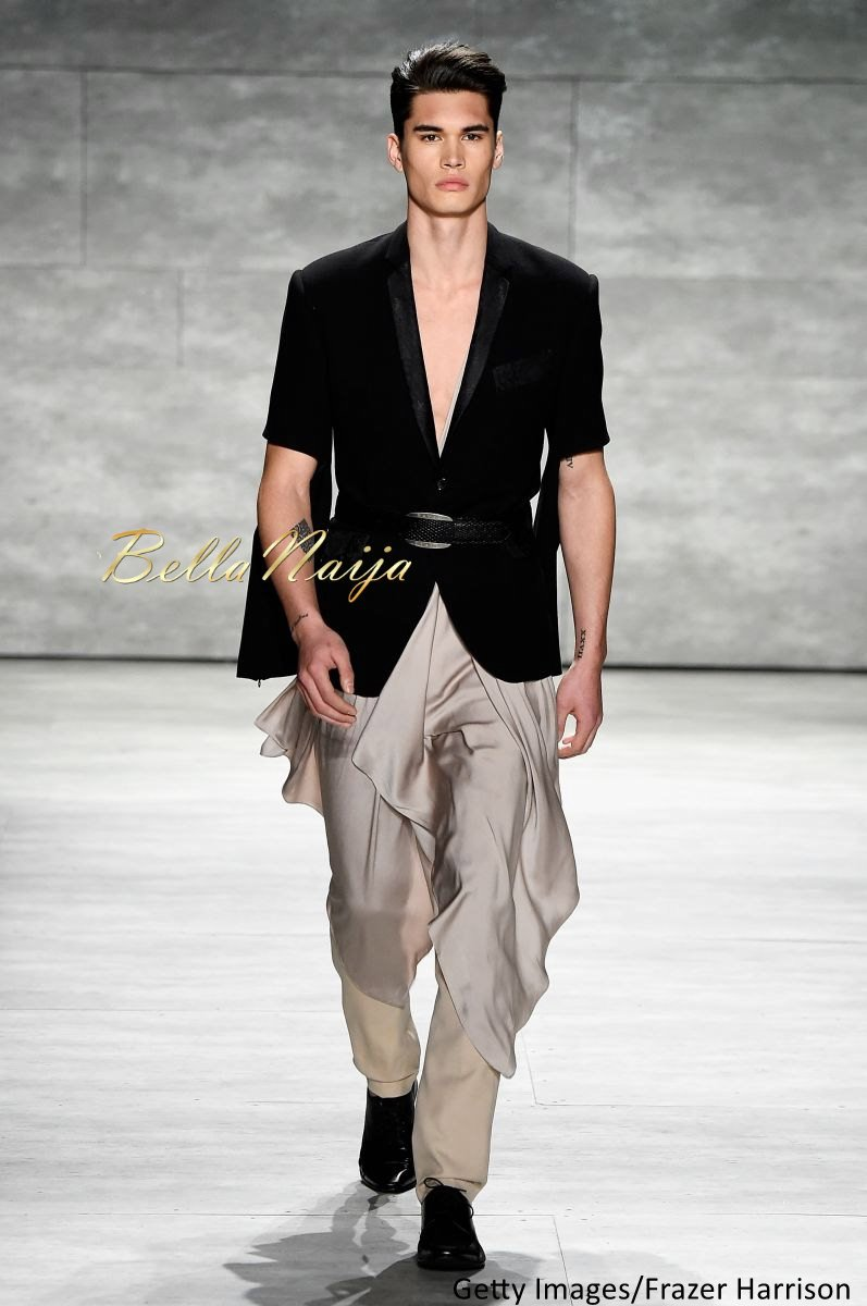 David Tlale at Mercedes-Benz Fashion Week New York 2015 David Tlale Makeup - Bellanaija - February2015028