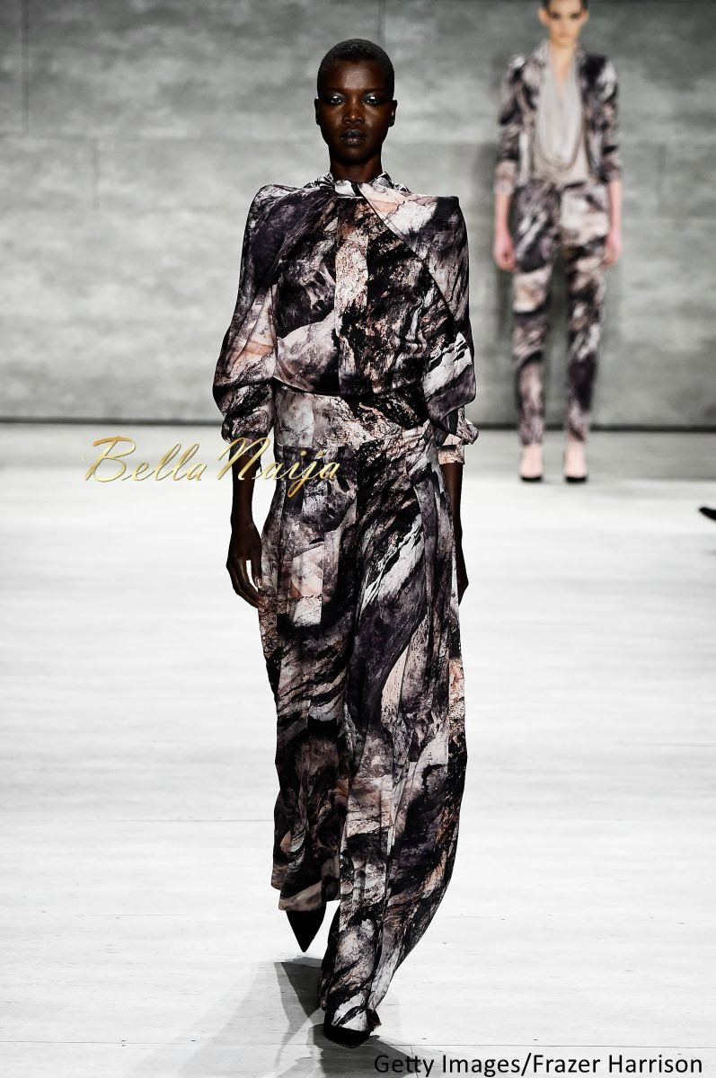 David Tlale at Mercedes-Benz Fashion Week New York 2015 David Tlale Makeup - Bellanaija - February2015030
