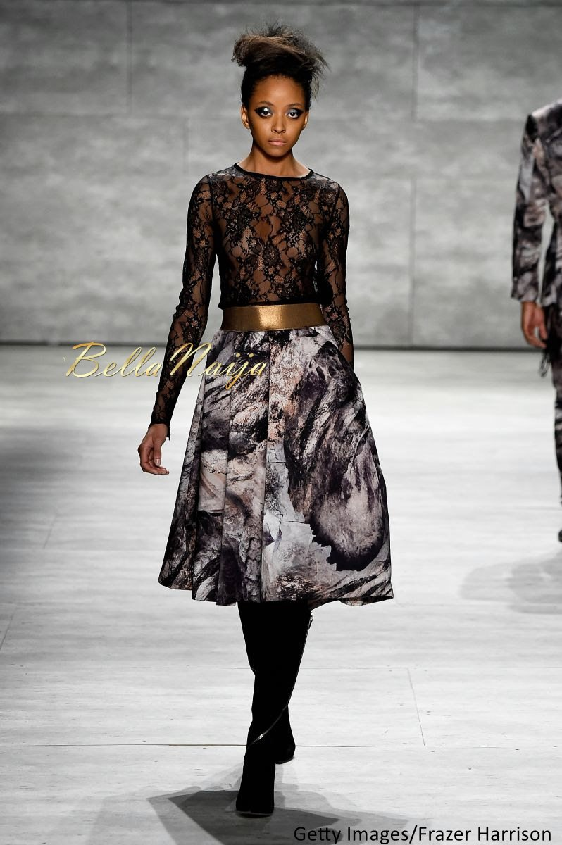 David Tlale at Mercedes-Benz Fashion Week New York 2015 David Tlale Makeup - Bellanaija - February2015031
