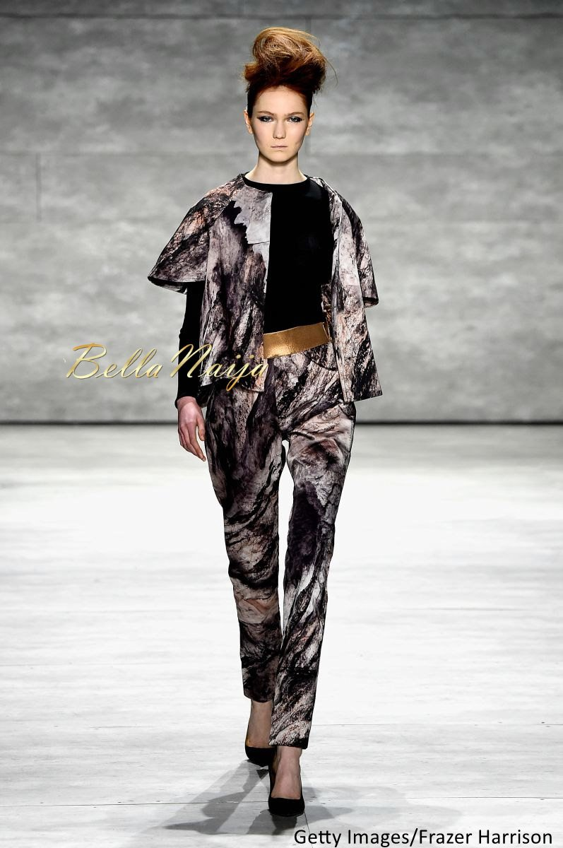 David Tlale at Mercedes-Benz Fashion Week New York 2015 David Tlale Makeup - Bellanaija - February2015032