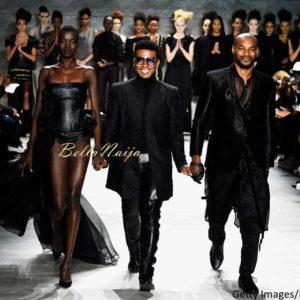 David Tlale at Mercedes-Benz Fashion Week New York 2015 David Tlale Makeup - Bellanaija - February2015037