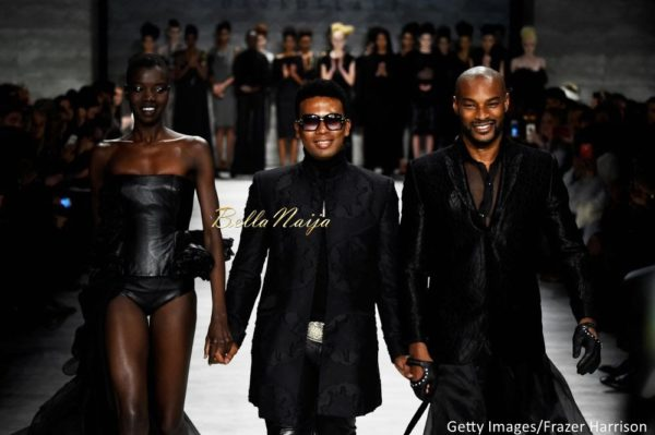 David Tlale at Mercedes-Benz Fashion Week New York 2015 David Tlale Makeup - Bellanaija - February2015038