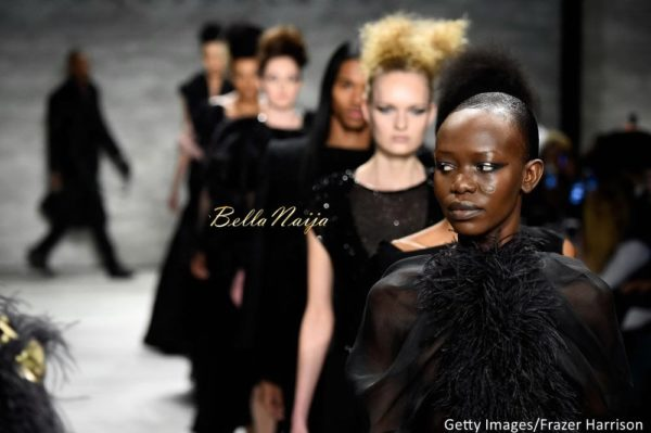 David Tlale at Mercedes-Benz Fashion Week New York 2015 David Tlale Makeup - Bellanaija - February2015044