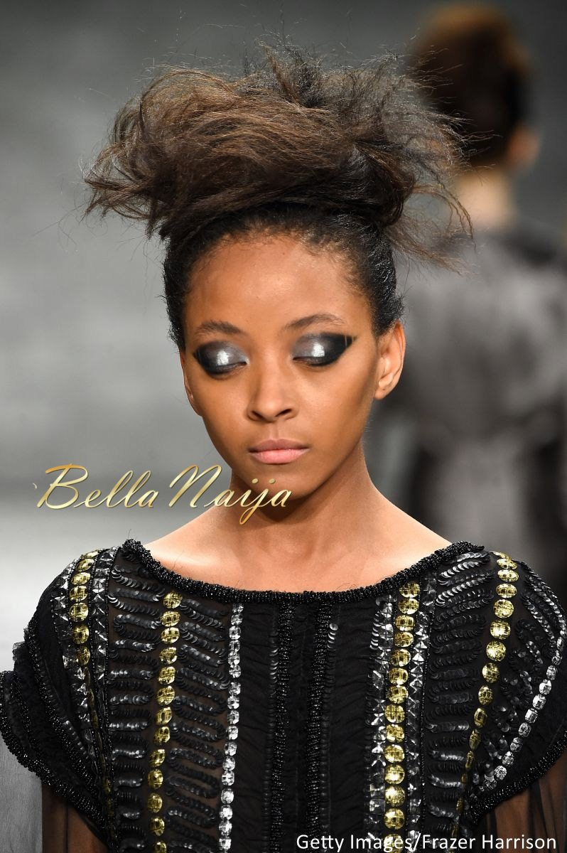 David Tlale at Mercedes-Benz Fashion Week New York 2015 David Tlale Makeup - Bellanaija - February2015048