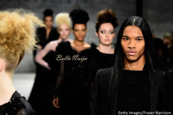 David Tlale at Mercedes-Benz Fashion Week New York 2015 David Tlale Makeup - Bellanaija - February2015056