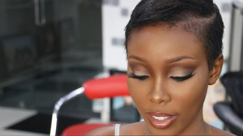 Dodos Uvieghara Valentine's Day Makeup Tutorial - BellaNaija - February 2015