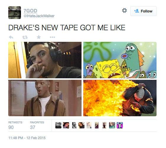 Drake Album Reactions (6)