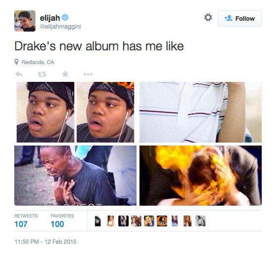 Drake Album Reactions (7)