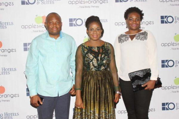 Nnamdi Okonkwo (Managing Director, Fidelity Bank) & Uche Okonkwo