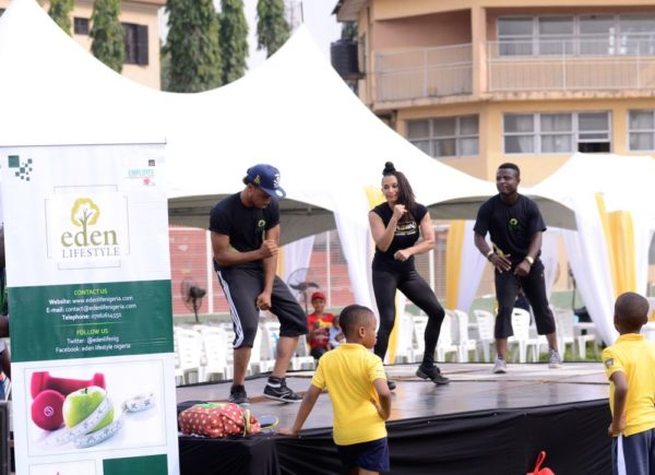 FCMB Family Fitness Day powered by Eden Lifestyle - Bellanaija - February2015010
