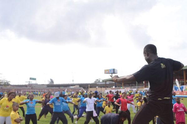 FCMB Family Fitness Day powered by Eden Lifestyle - Bellanaija - February2015011