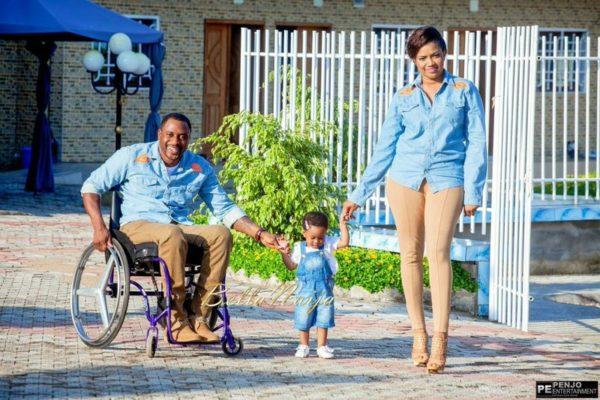 Fule & Elvis | Penjo Entertainment Cameroon | couple, wheelchair love story | BellaNaija Weddings06