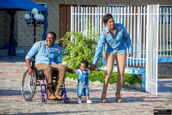 Fule & Elvis | Penjo Entertainment Cameroon | couple, wheelchair love story | BellaNaija Weddings07
