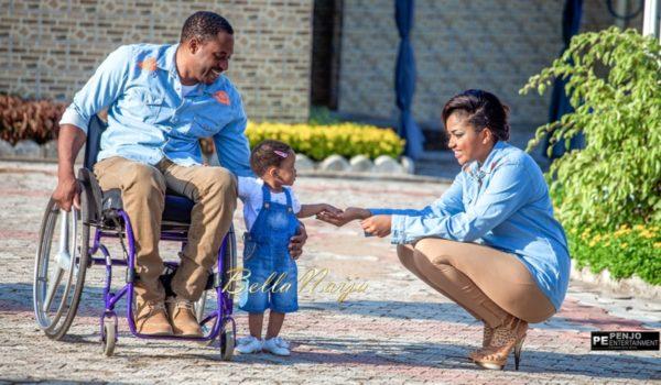 Fule & Elvis | Penjo Entertainment Cameroon | couple, wheelchair love story | BellaNaija Weddings08