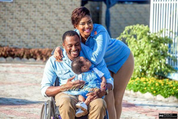 Fule & Elvis | Penjo Entertainment Cameroon | couple, wheelchair love story | BellaNaija Weddings12