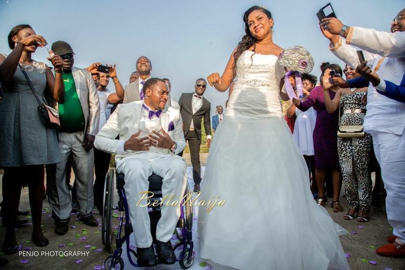 Fule & Elvis | Penjo Entertainment Cameroon | couple, wheelchair love story | BellaNaija Weddings13