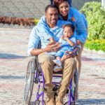 Fule & Elvis | Penjo Entertainment Cameroon | couple, wheelchair love story | BellaNaija Weddings14