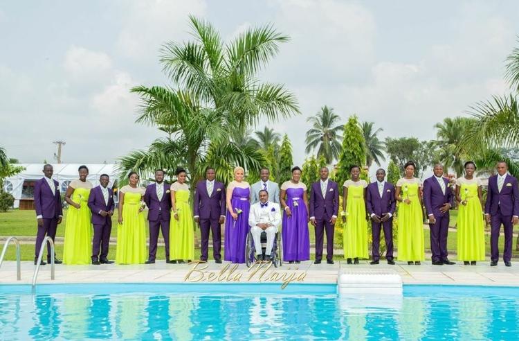 Fule & Elvis | Penjo Entertainment Cameroon | couple, wheelchair love story | BellaNaija Weddings15-2