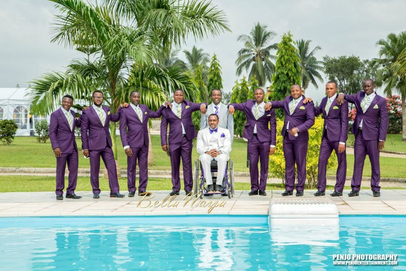 Fule & Elvis | Penjo Entertainment Cameroon | couple, wheelchair love story | BellaNaija Weddings16