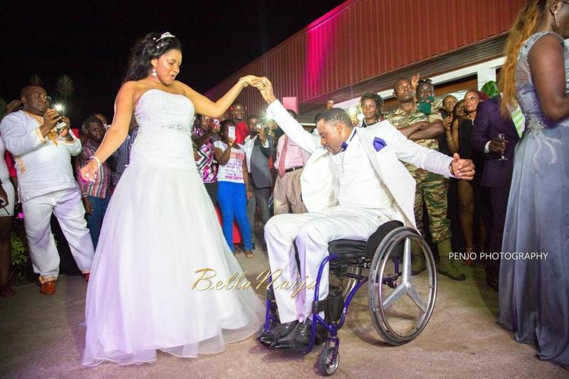 Fule & Elvis | Penjo Entertainment Cameroon | couple, wheelchair love story | BellaNaija Weddings18