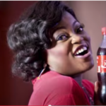 Funke Akindele share a coke