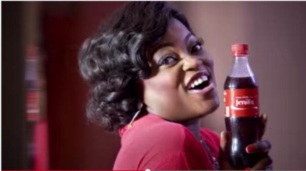 Funke Akindele share a coke