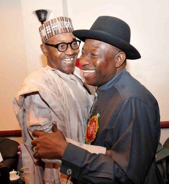 GEJ and Buhari