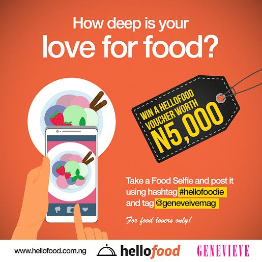 Genevieve Magazine & Hello Food Giveaway - BellaNaija - February 2015