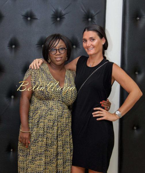 Jenny Micheletti & Tola Soleye Martins