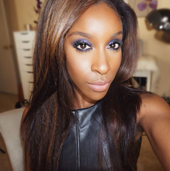 Jackie Aina of MakeupGameOnPoint - BellaNaija - February2015